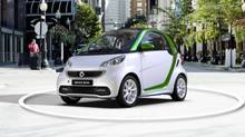 2016 Smart fortwo electric drive (Mercedes-Benz)