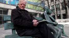 Paul Kitchen is heading up a campaign to have a memorial erected in Ottawa of Lord Stanley March 17, 2013 in Ottawa. (DAVE CHAN FOR THE GLOBE AND MAIL)