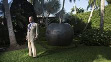 Billionaire Wilbur L. Ross, Jr. made his money investing in distressed assets and has filled his West Palm Beach home with his pieces from his $150-million art collection. (Melissa Lyttle)