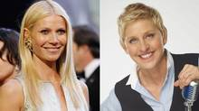 Photo illustration of actress Gwyneth Paltrow, left, and talk show host Ellen DeGeneres (REUTERS;AP/FOX/Mario Anzuoni;Michael Becker)