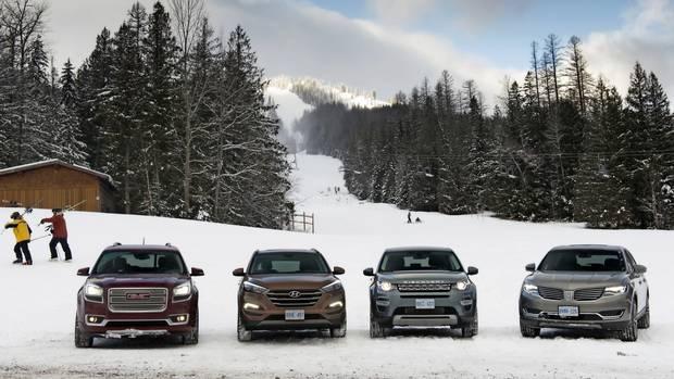 Suv Ski Trip Showdown Testing Four Suvs For A Family