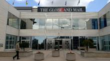The Globe and Mail building on Front Street West in Toronto. (Simon Hayter/Getty Images)