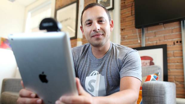 SHOPIFY. Ottawa e-commerce software company has become the country's first Internet startup since the dot-com crash to reach a billion-dollar valuation, thanks to one of the largest venture financings in Canadian history.
