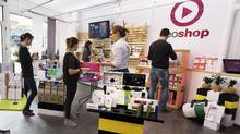 The original Neoshop opened in 2013 in Laval, France, and includes an online store with a catalogue of products. (Jacques Olivier/Neoshop)