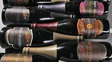 Part of Lot 158 at Skinner's recent fine-ale auction, consisting of 12 bottles from California's The Bruery. The lot sold for $1,169 (U.S.), or almost $100 a bottle – with proceeds to charity.