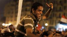 Egyptian activist Ahmed Hassan in Jehane Noujaim's documentary The Square (Courtesy of Noujaim Films)