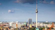 Fernsehturm television tower in Berlin, Germany. (Matthew Dixon/Getty Images/iStockphoto)