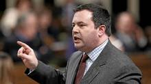 Jason Kenney challenged Saudi Arabia on Tuesday over an 'ethical oil' TV spot that singled out the kingdom's human-rights record. (Chris Wattie/Reuters)