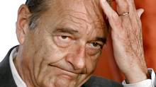 French President Jacques Chirac is seen in this January 8, 2007 file photo. (CHARLES PLATIAU/Reuters)