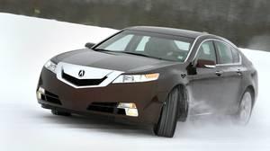 2010 Acura TL SH-AWD.