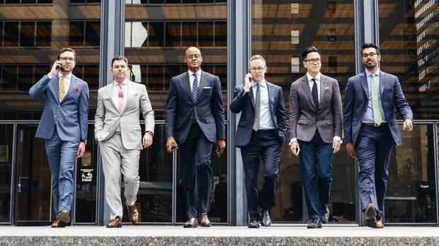 Bay Street Style Toronto S Men In Suits Are Finally Free