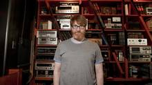 Author and pop culture critic Chuck Klosterman poses at the Drake Hotel in Toronto on Tuesday, July 23, 2013 (Gloria Nieto/The Globe and Mail)