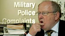Glenn Stannard, the new chairman of the Military Police Complaints Commission, listens as hearings on April 6, 2010 resume in Ottawa on a complaint about the treatment of detainees. (Sean Kilpatrick/THE CANADIAN PRESS)
