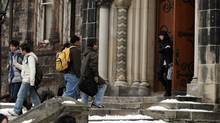 The federal government wants to double the international student intake in Canada by 2022. (Fernando Morales/The Globe and Mail)