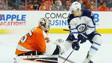 From Feb. 18 until the end of last year's NHL regular season, the No. 1 scorer in the league was not Patrick Kane or Sidney Crosby, but the Winnipeg Jets' Mark Scheifele. (Bruce Bennett/Getty Images)