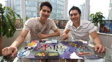 Panda Game Manufacturing's Richard Lee, left, and Michael Lee (COURTESY OF MICHAEL LEE)