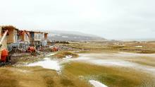 Construction continues on the chalets at the Cabot Links in Inverness, NS , March 26, 2012. (Paul Darrow for The Globe and Mail/Paul Darrow for The Globe and Mail)