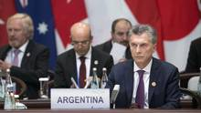 Argentina's President Mauricio Macri attends the opening ceremony of the G-20 Summit on Sept. 4, 2016 in Hangzhou, China. (Mark Schiefelbein/Getty Images)