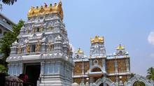 Tirupathi temple is one of the most visited places of worship in the world.