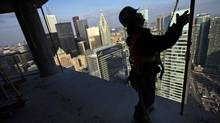 Toronto's condo market has rebounded with builders putting the finishing touches on nearly 10,400 new units in January. (MARK BLINCH/REUTERS)