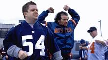 Paul (Patton Oswalt, left), with Sal (Kevin Corrigan), doesn't mind his football-obsessed life until it's messed up by an unnecessary plot twist.