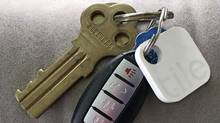 The average adult spends six minutes every day looking for misplaced keys, according to a study commissioned by Swedish home furnishings giant IKEA. (Joanne Elves/The Globe and Mail)
