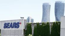A Sears store at the Square One shopping centre in Mississauga. (FERNANDO MORALES/THE GLOBE AND MAIL)