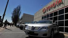 File photo of Toyota dealership in Toronto on May 5, 2011. (Sarah Dea/The Globe and Mail/Sarah Dea/The Globe and Mail)