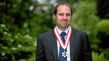 Jeffery Skoll was made an Officer of the Order of Canada on May 25, 2012. (Dave Chan/Dave Chan for The Globe and Mail)