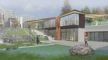 This rendering shows the plan for UBC's Indian Residential School History and Dialogue Centre. (FORMLINE A+U)