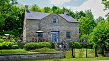 This 1837 heritage home made with Renfrew County blue limestone was built by the lumber baron Alexander McDonell.