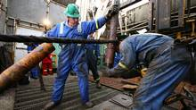Calfrac, which operates in drilling-heavy areas such as the Marcellus shale formation, gets close to a third of its revenue from its U.S. operations. (Nathan VanderKlippe/The Globe and Mail)