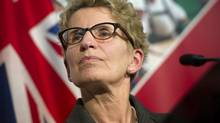 Premier Kathleen Wynne in Toronto on April 29, 2013. (Kevin Van Paassen/The Globe and Mail)