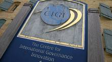 The Centre for International Governance Innovation, which is housed in a former Seagram whiskey barrel house, in Waterloo, Ont. (Peter Power/The Globe and Mail/Peter Power/The Globe and Mail)