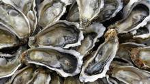 British Columbia's shellfish industry is reeling from the impact of a mysterious norovirus that has forced the closure of seven coastal oyster farms, caused others to curtail operations and made hundreds of Canadians sick. (REGIS DUVIGNAU/REUTERS)