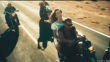 """Screen grab from video for """"The Ride"""""""