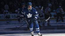 Toronto Maple Leafs' Auston Matthews takes part in a pre-game skate before their home opener against the Boston Bruins, in Toronto on Saturday, October 15, 2016. (Chris Young/THE CANADIAN PRESS)