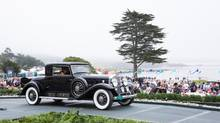 Torontonian Brent Merrill's 1931 Cadillac 452A Fleetwood Coupe at Pebble Beach in 2013. (Kimball Studios/Pebble Beach Concours d'Elegance)