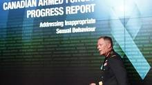Chief of Defence Staff General Jonathan Vance attends a news conference in Ottawa in an August 30, 2016, file photo. The Canadian Forces has launched the first internal review of the military justice system in generations and among the issues being looked at is whether all military sexual crimes should be handled by civilian courts. THE CANADIAN PRESS/Fred Chartrand