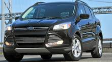 The 2013 Ford Escape. (Ford Ford)