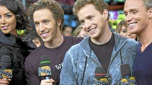 Brothers Marc Kielburger and Craig Kielburger, co-founder and founder respecitively, of the Free The Children Foundation visit LIVE@Much on Monday, Oct. 5, 2009.