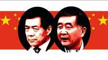 On the conservative 'new left' of Chinese politics, is Bo Xilai (left), the boss of Chongqing, who's become famous for crackdowns on crime and nostalgic celebrations of Chairman Mao. At right is his rival,  Guangdong chief Wang Yang, the liberal governor of China's freest state.