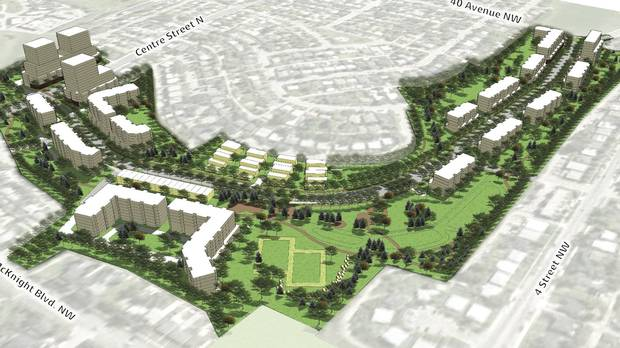3D rendering of Central Park, looking south.