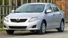 2009 Toyota Corolla CE (Bill Petro/Toyota)
