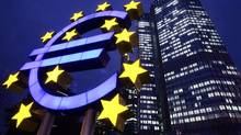 Euro zone inflation picked up in November because of a rise in electricity and accommodation prices. (Michael Probst/AP Photo)