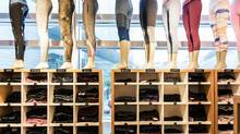 Vancouver-based yoga brand Lululemon was criticized in 2013 for selling a batch of trendy stretch pants that many customers complained were uncomfortably sheer. (Xaume Olleros/Bloomberg)
