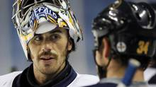 The Buffalo Sabres and concussed goaltender Ryan Miller still can't understand why Boston's Milan Lucic escaped punishment for last weekend's hit. (AP Photo/David Duprey) (David Duprey/AP)