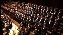 The Toronto Mendelssohn Choir in action (Handout)