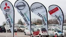 The Mitsubishi i-MiEV, Nissan Leaf, Infiniti M Hybrid and a host of Toyota and Lexus hybrids will be available for test drives just outside the show at the Direct Energy Centre. (Rafal Andronowski/Green Living Show)