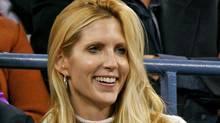 Conservative pundit Ann Coulter watches the U.S. Open tennis tournament in New York on Sept. 4, 2006. (JEFF ZELEVANSKY/JEFF ZELEVANSKY/REUTERS)